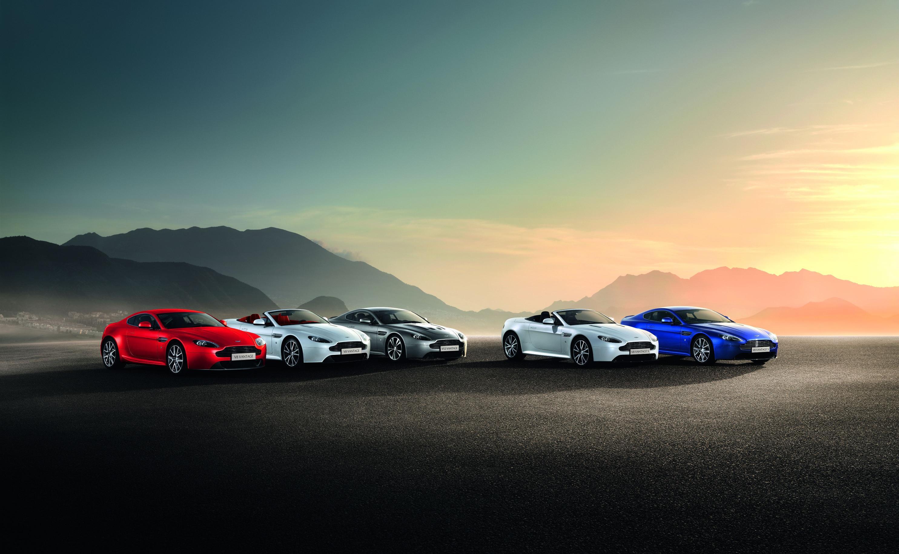 Aston Martin Vantage Range