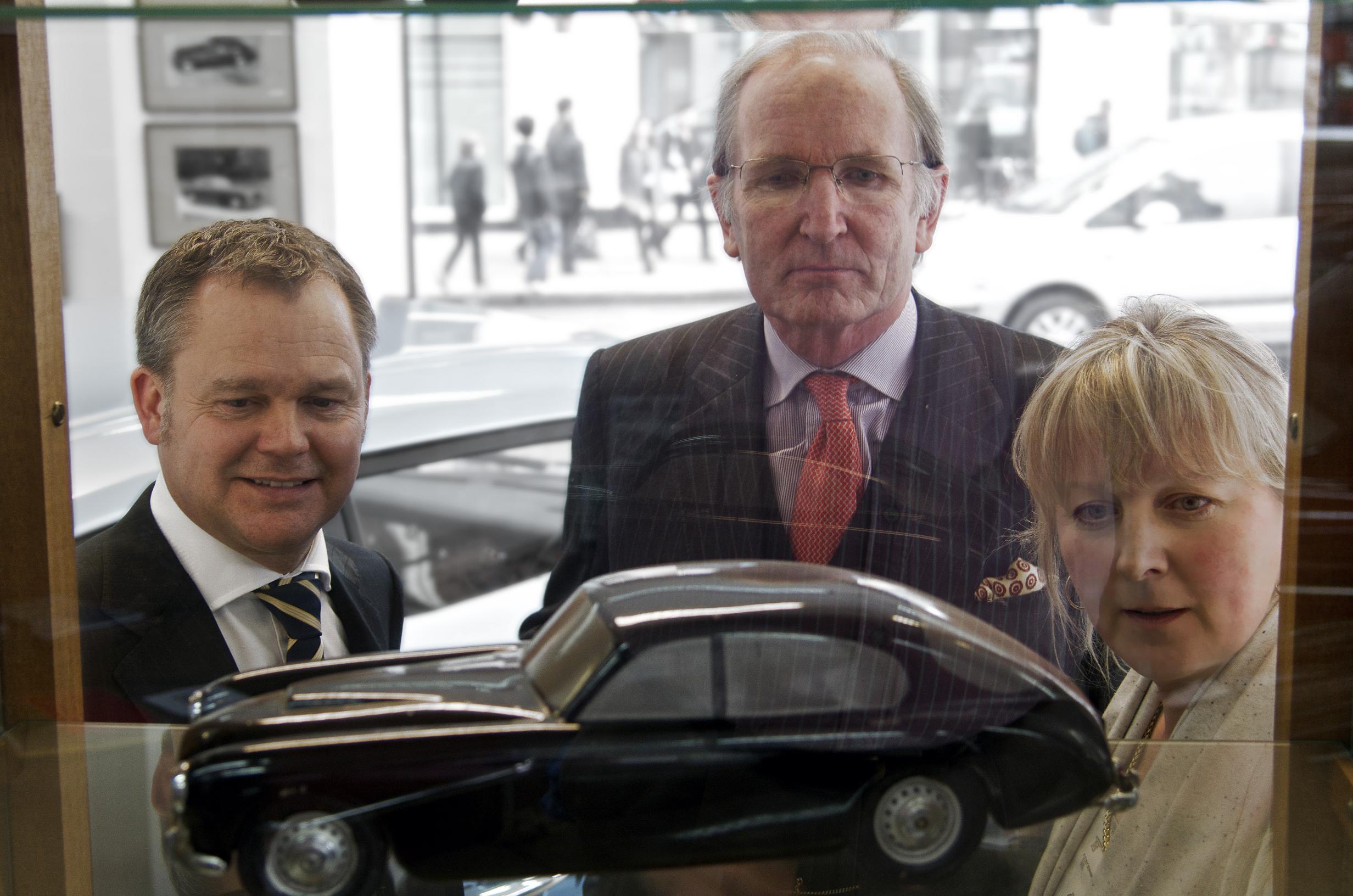 Bristol Cars Julian Ramshaw and Sir George White