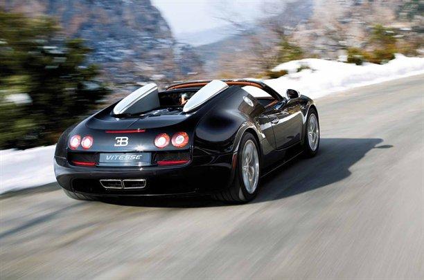 Bugatti Veyron Grand Sport Vitesse Rear