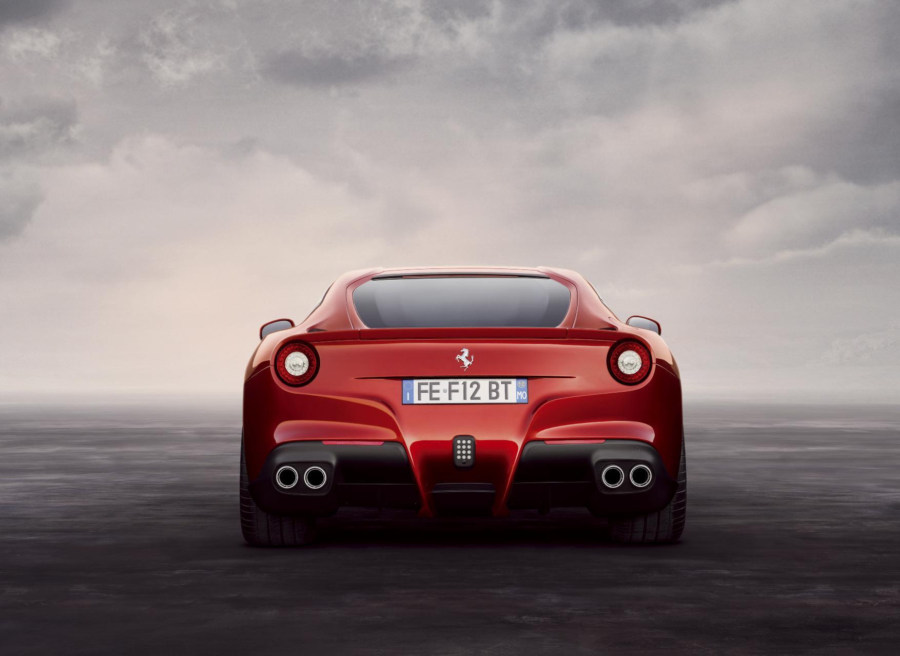 Ferrari F12 Berlinetta Rear 2