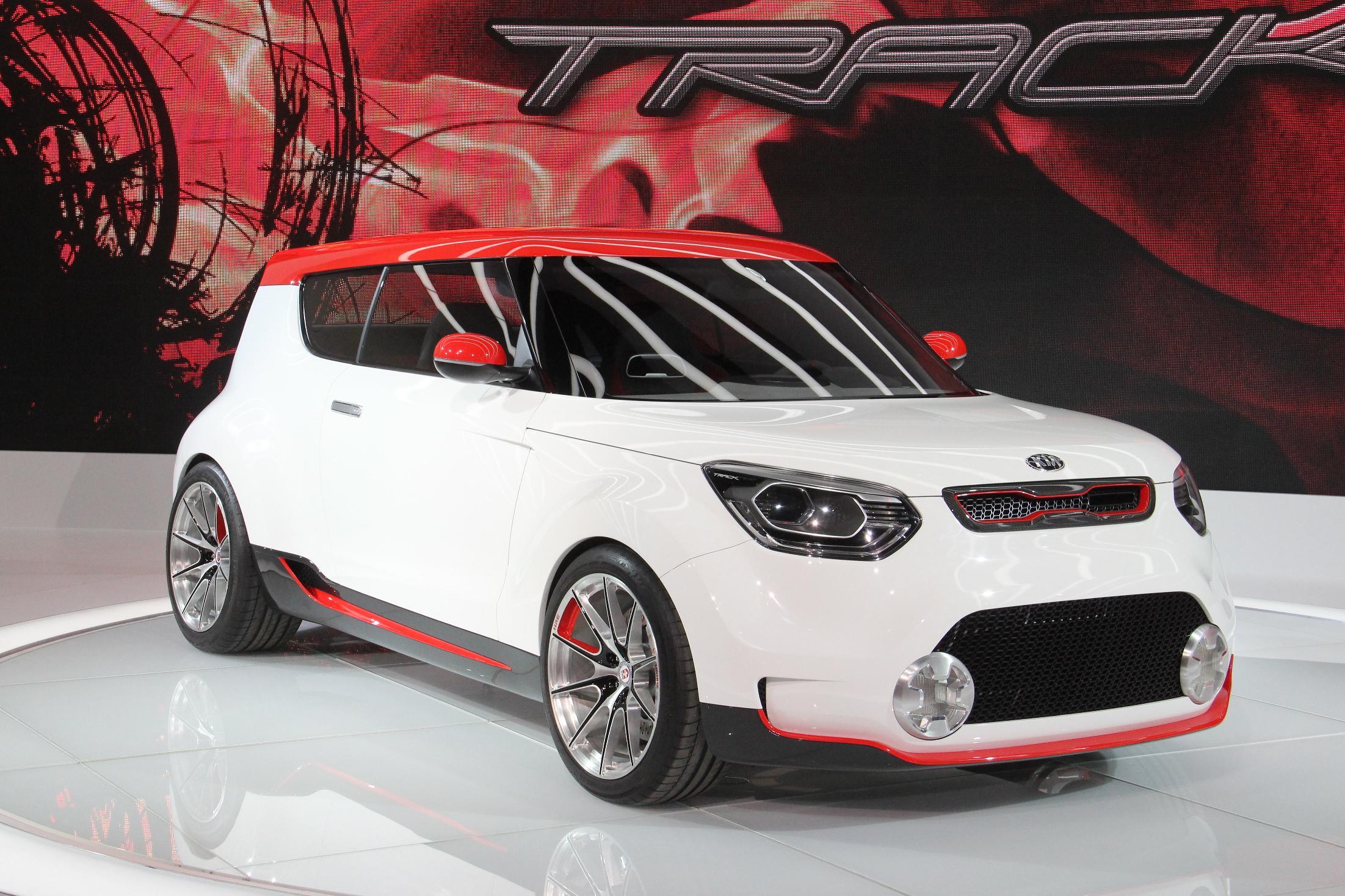 Kia Track'ster Chicago Auto Show 2012 3