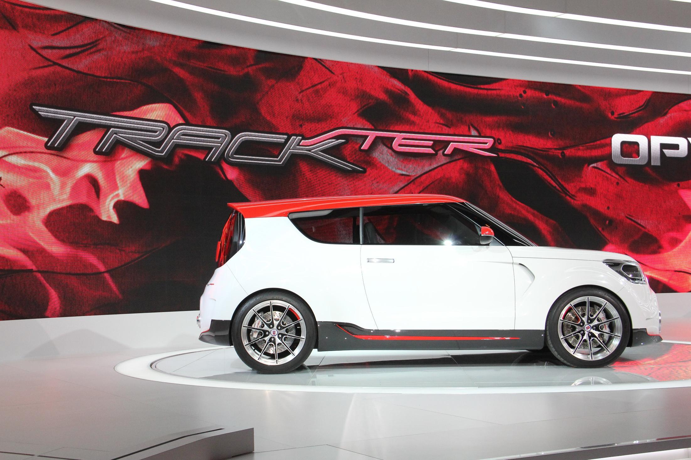 Kia Track'ster Chicago Auto Show 2012