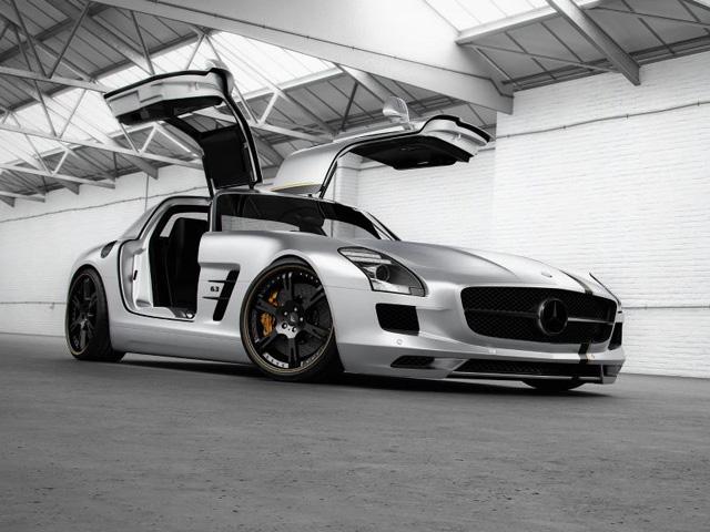 Mercedes AMG SLS Silverstar