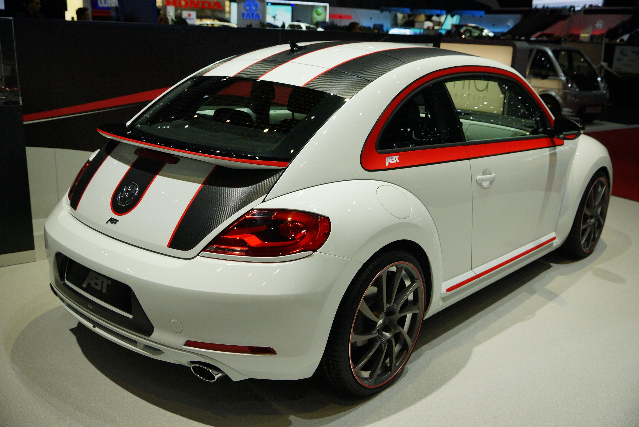 ABT VW Beetle Geneva 2012 Rear