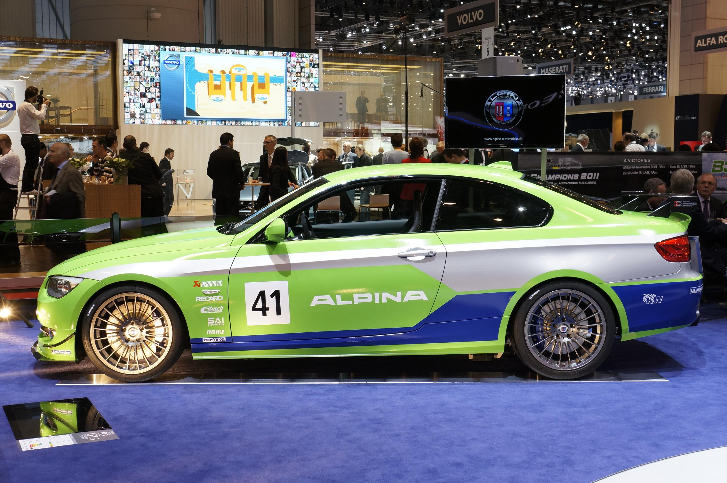 Alpina BMW 3 Series Racing Geneva 2012