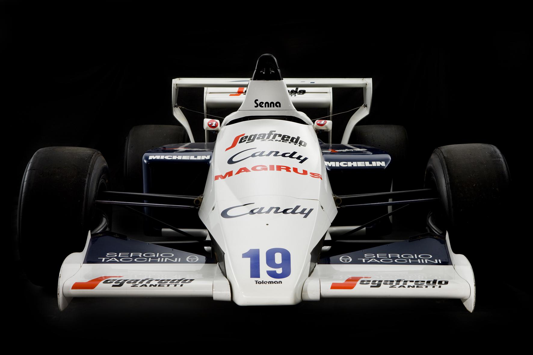 Aryton Senna Toleman F1 Front