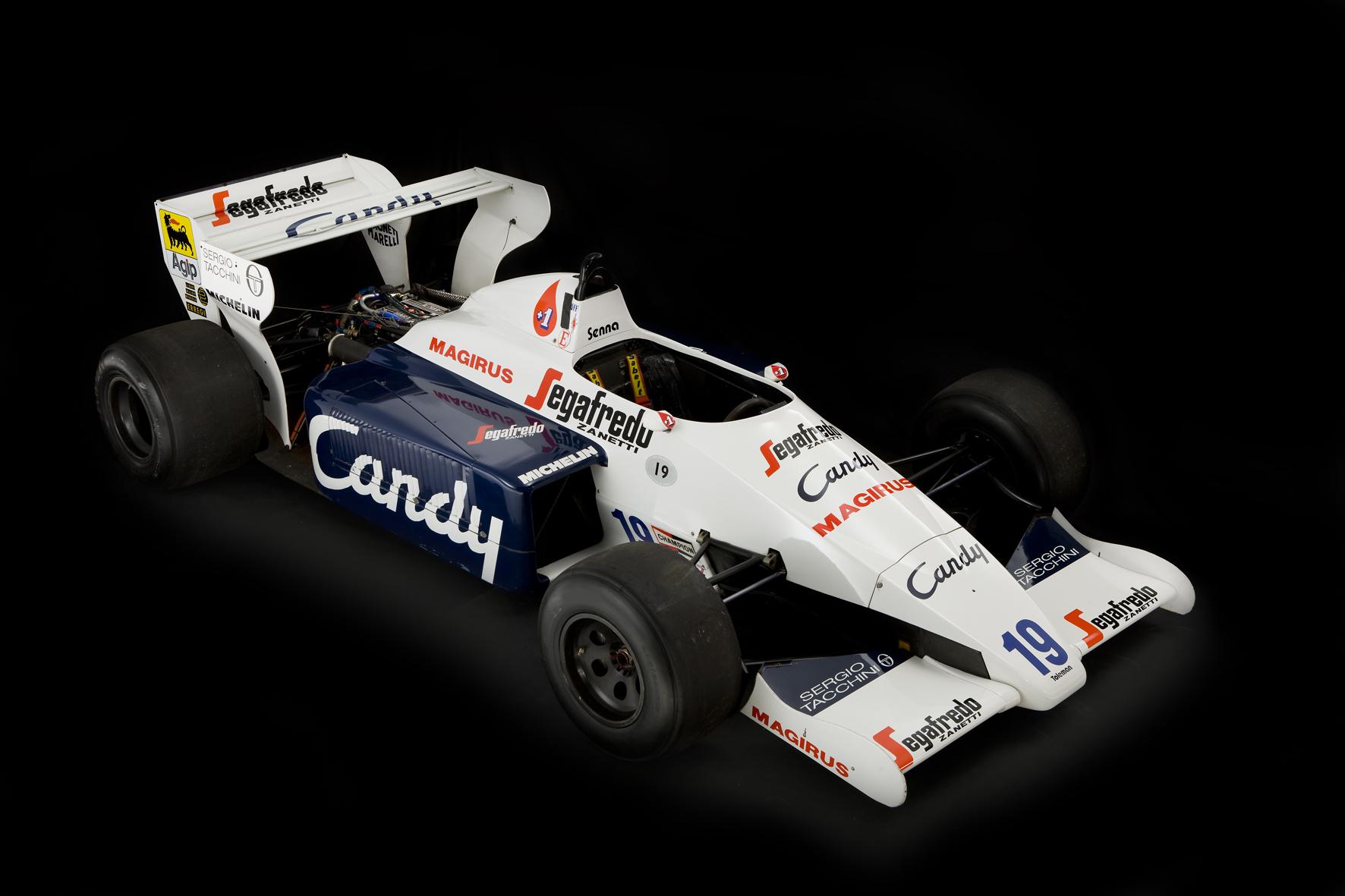 Aryton Senna Toleman F1