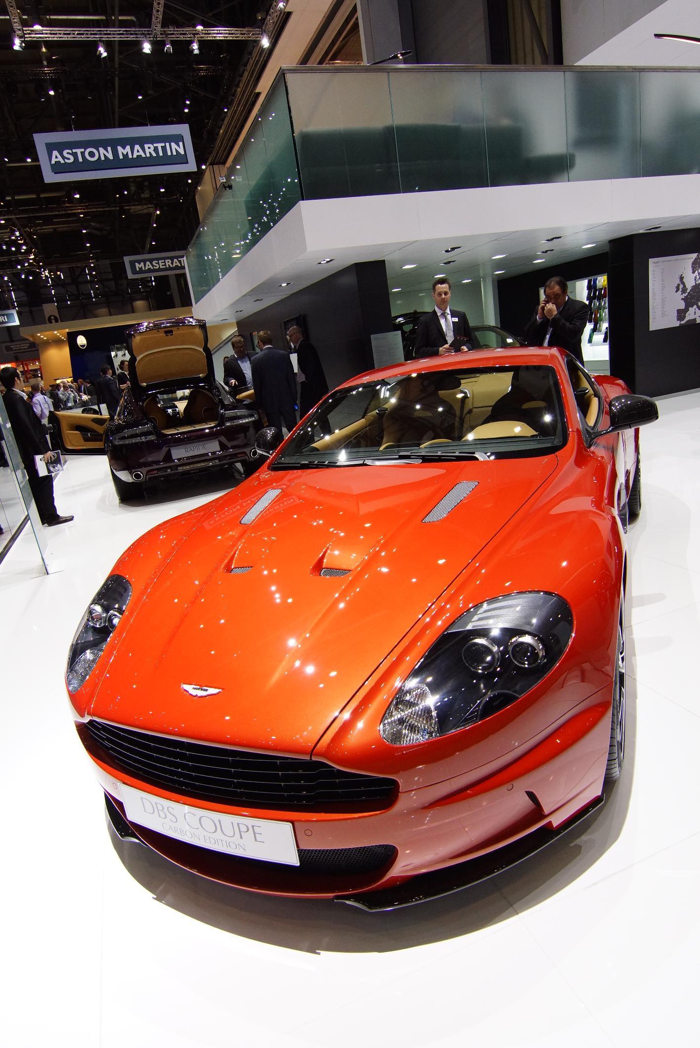 Aston Martin DBS Carbon Edition Geneva 2012 Front