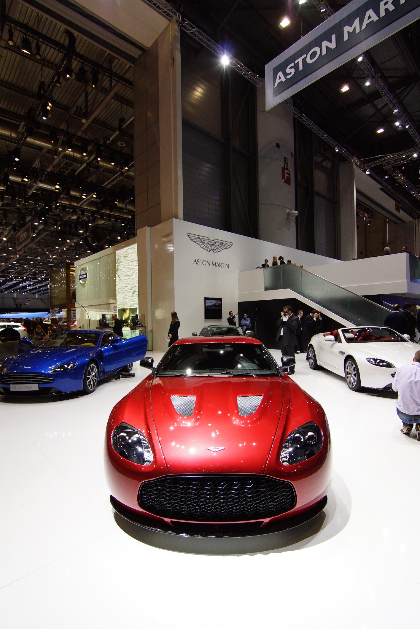 Aston Martin V12 Zagato Geneva 2012 Front 2