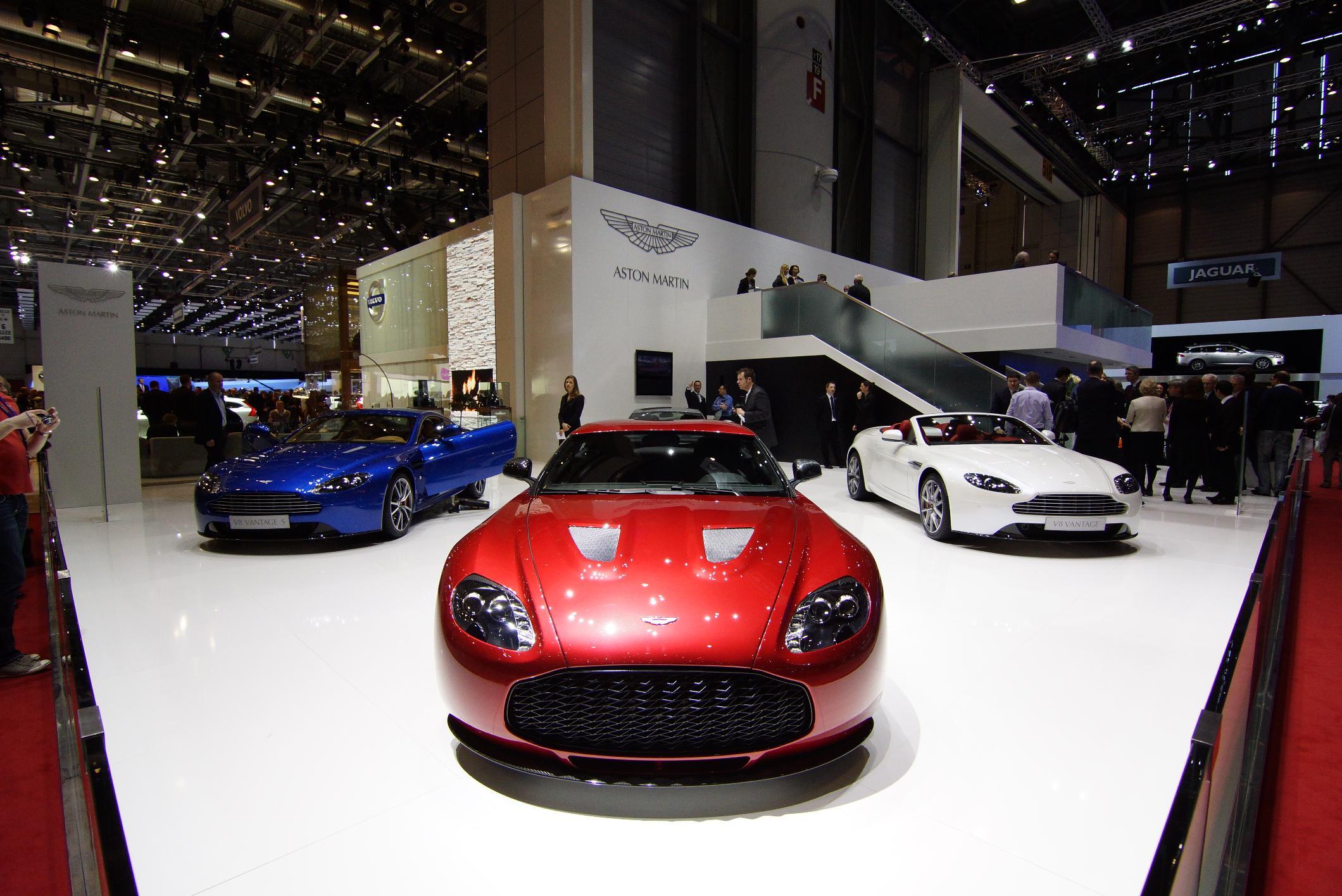 Aston Martin V12 Zagato Geneva 2012 Front 3