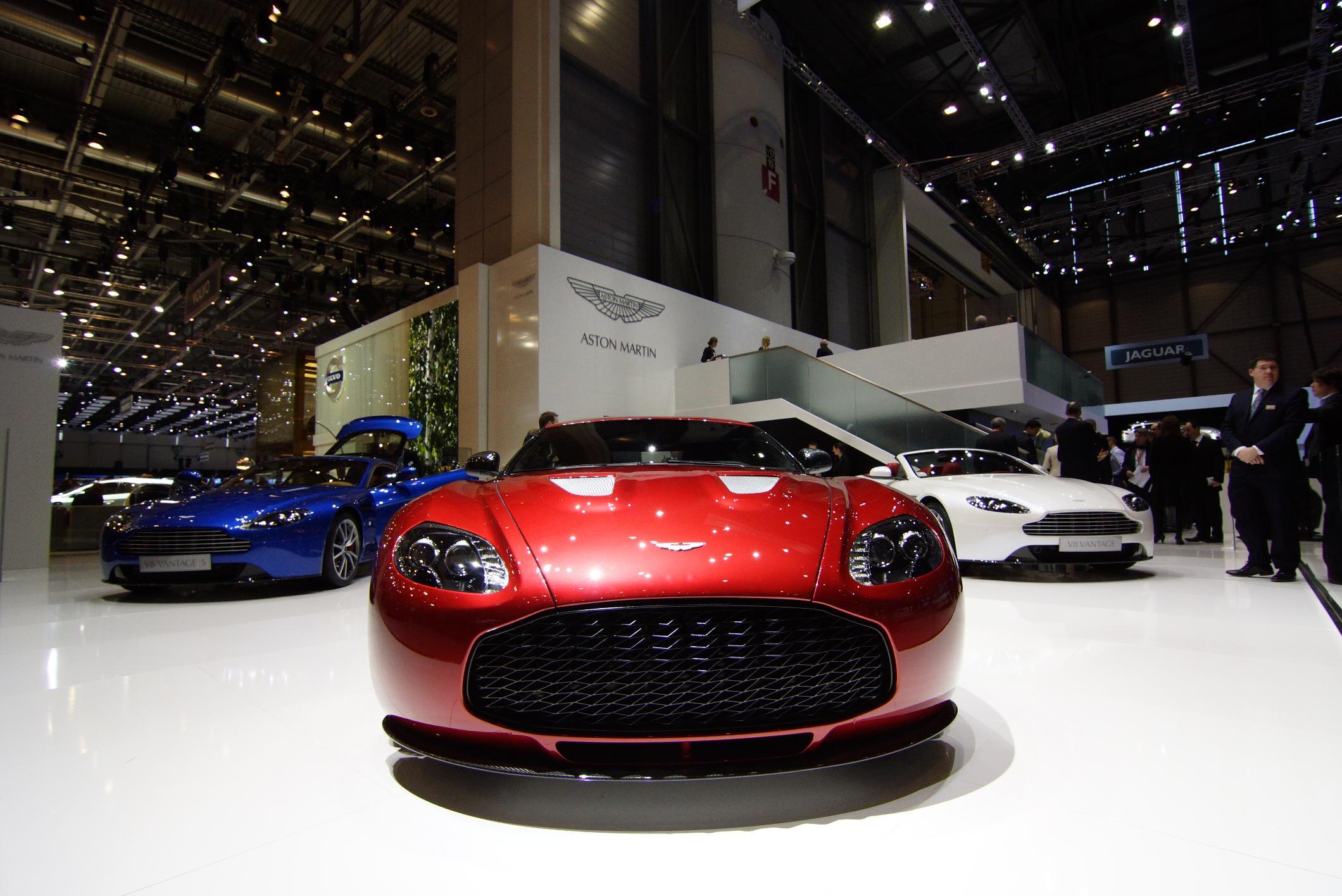Aston Martin V12 Zagato Geneva 2012 Front 4