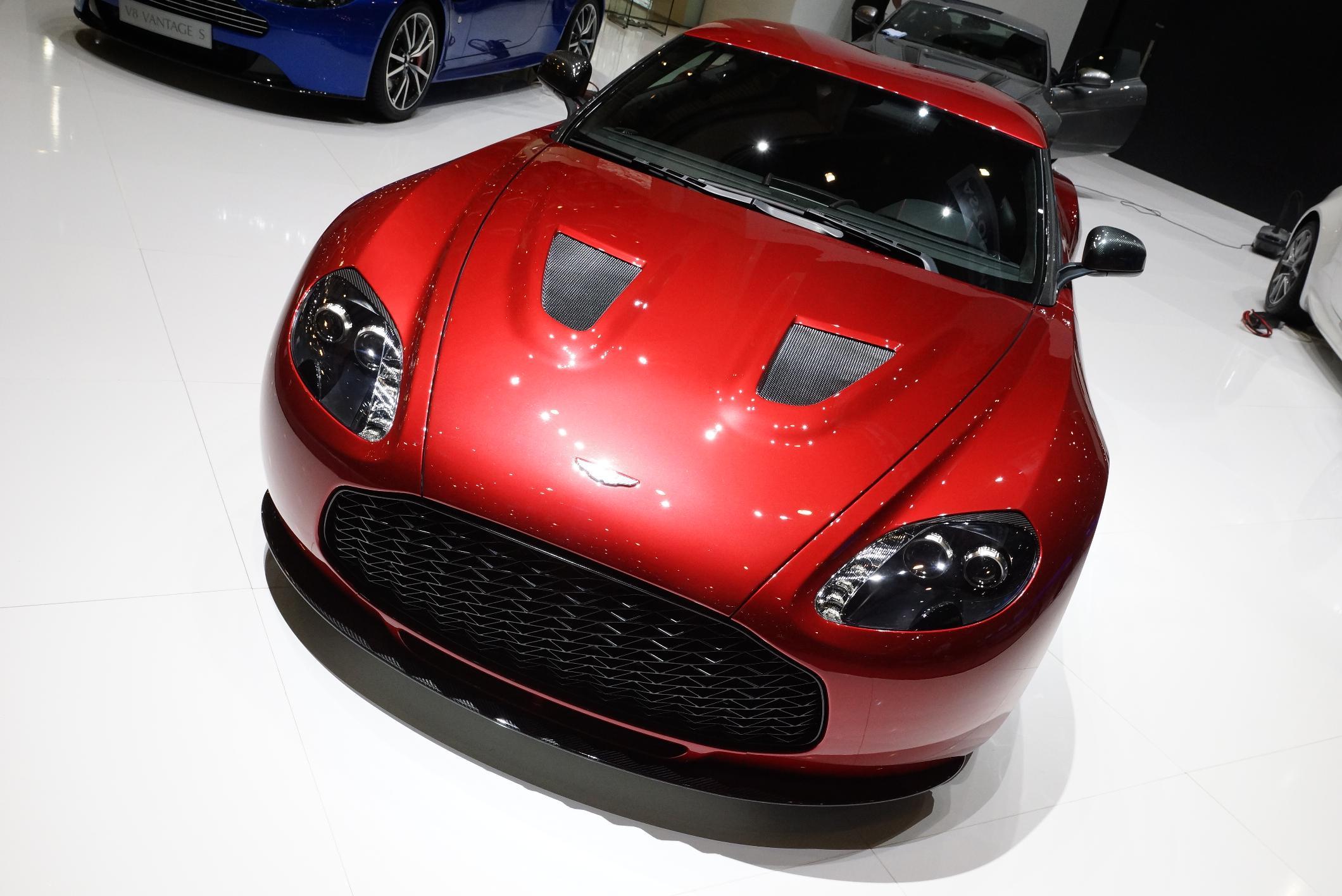 Aston Martin V12 Zagato Geneva 2012 Front