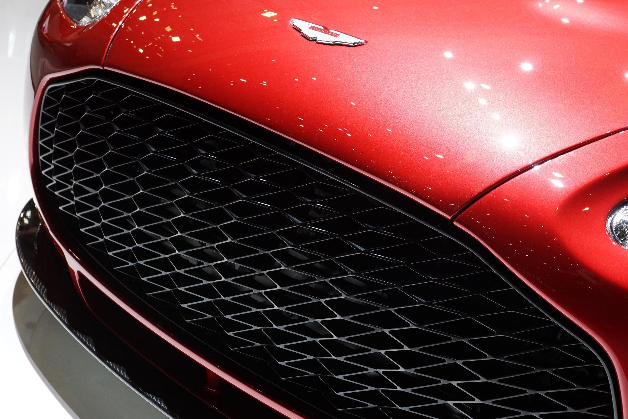 Aston Martin V12 Zagato Geneva 2012 Grille