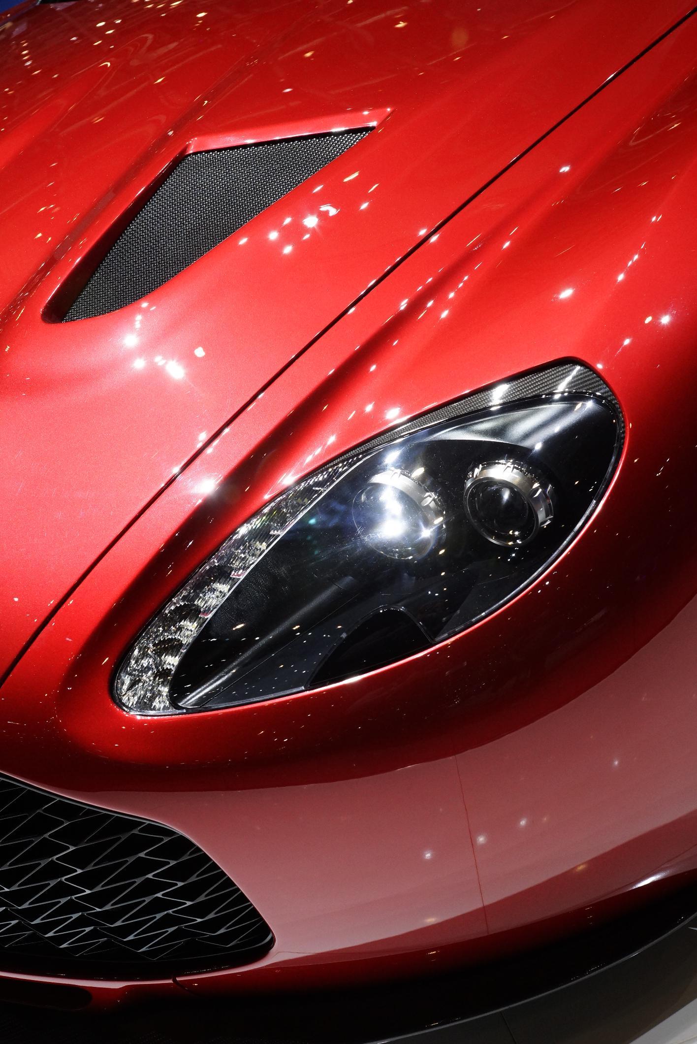 Aston Martin V12 Zagato Geneva 2012 Light