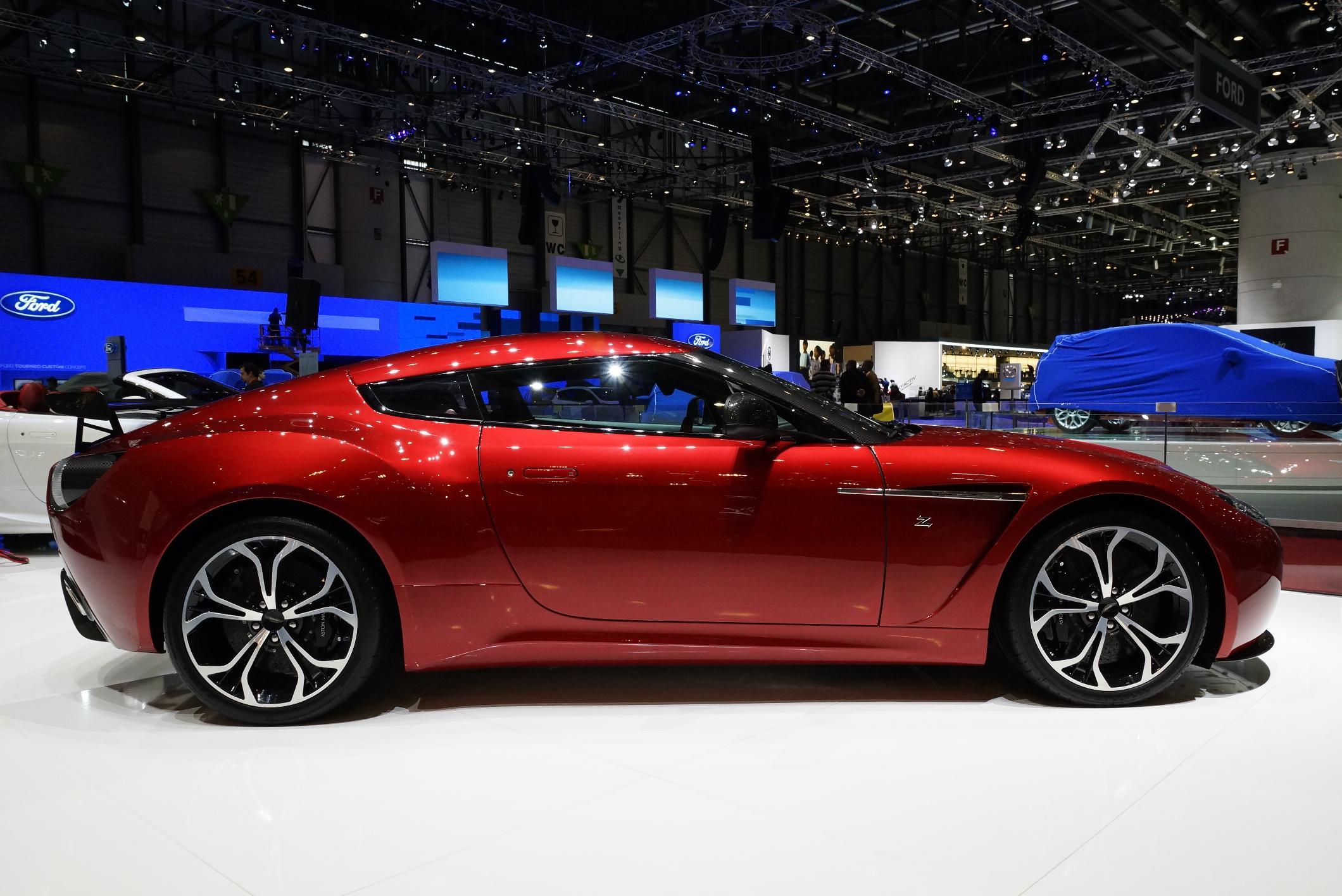 Aston Martin V12 Zagato Geneva 2012 Side