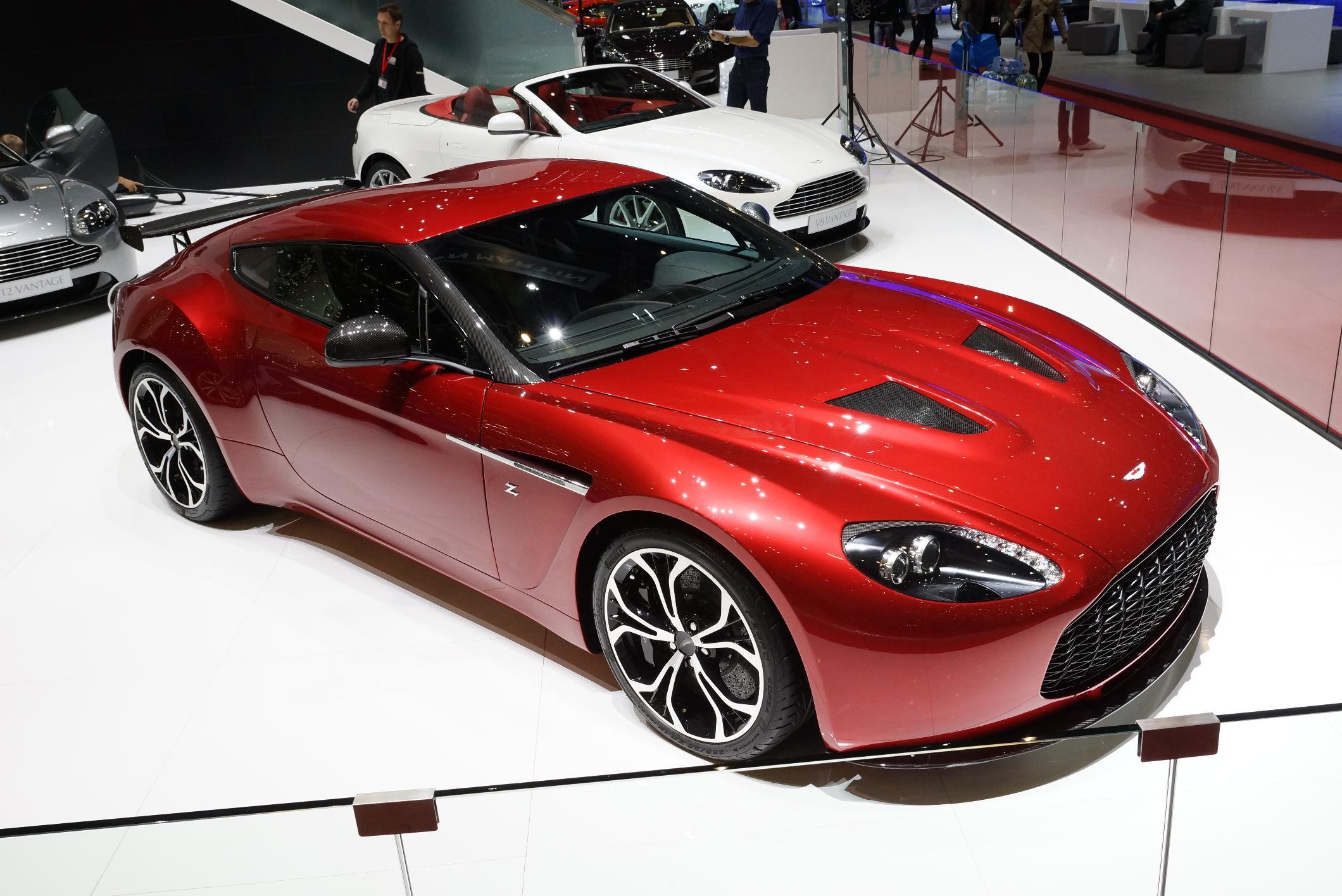 Aston Martin V12 Zagato Geneva 2012
