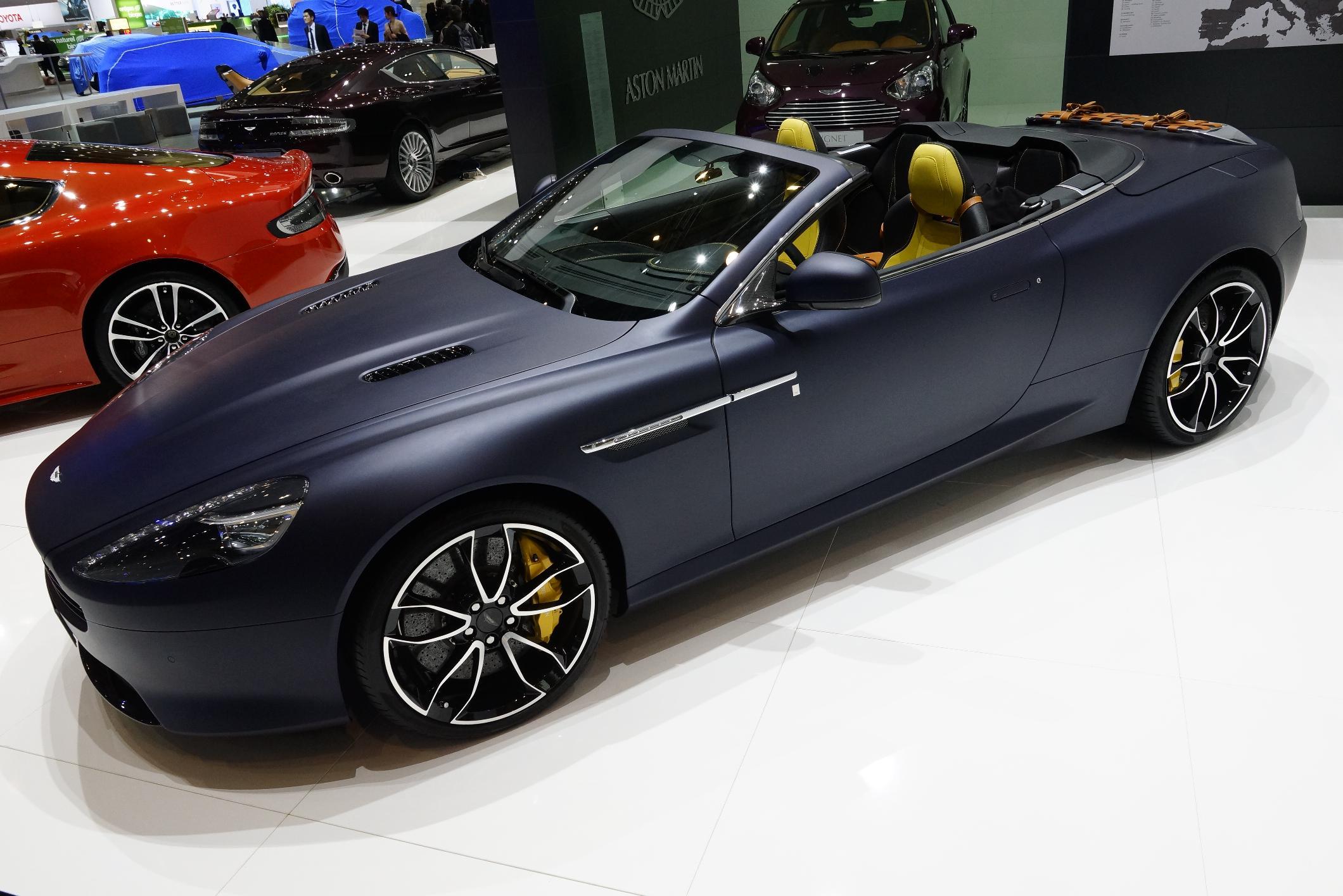 Aston Martin Virage Volante Q Geneva 2012