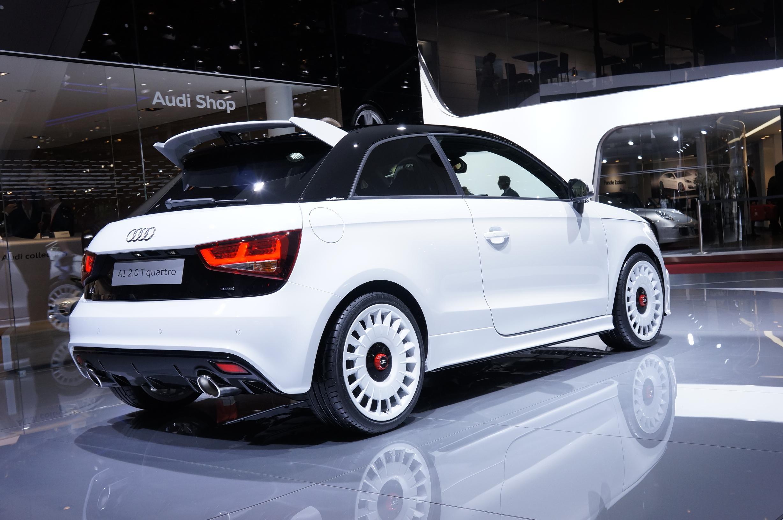Audi A1 Quattro Geneva 2012 Rear