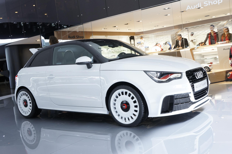 Audi A1 Quattro Geneva 2012