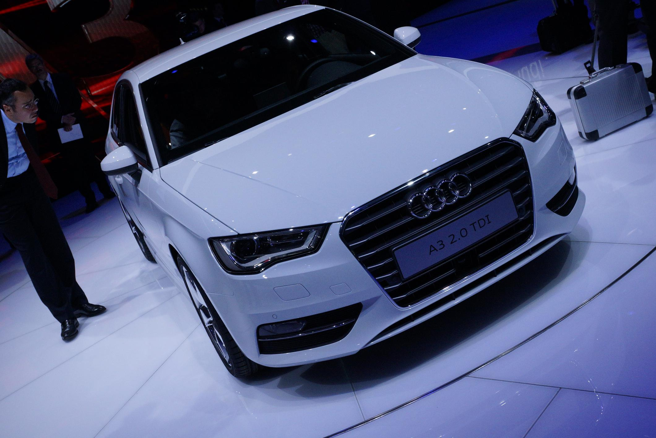 Audi A3 Geneva 2012 Front 2
