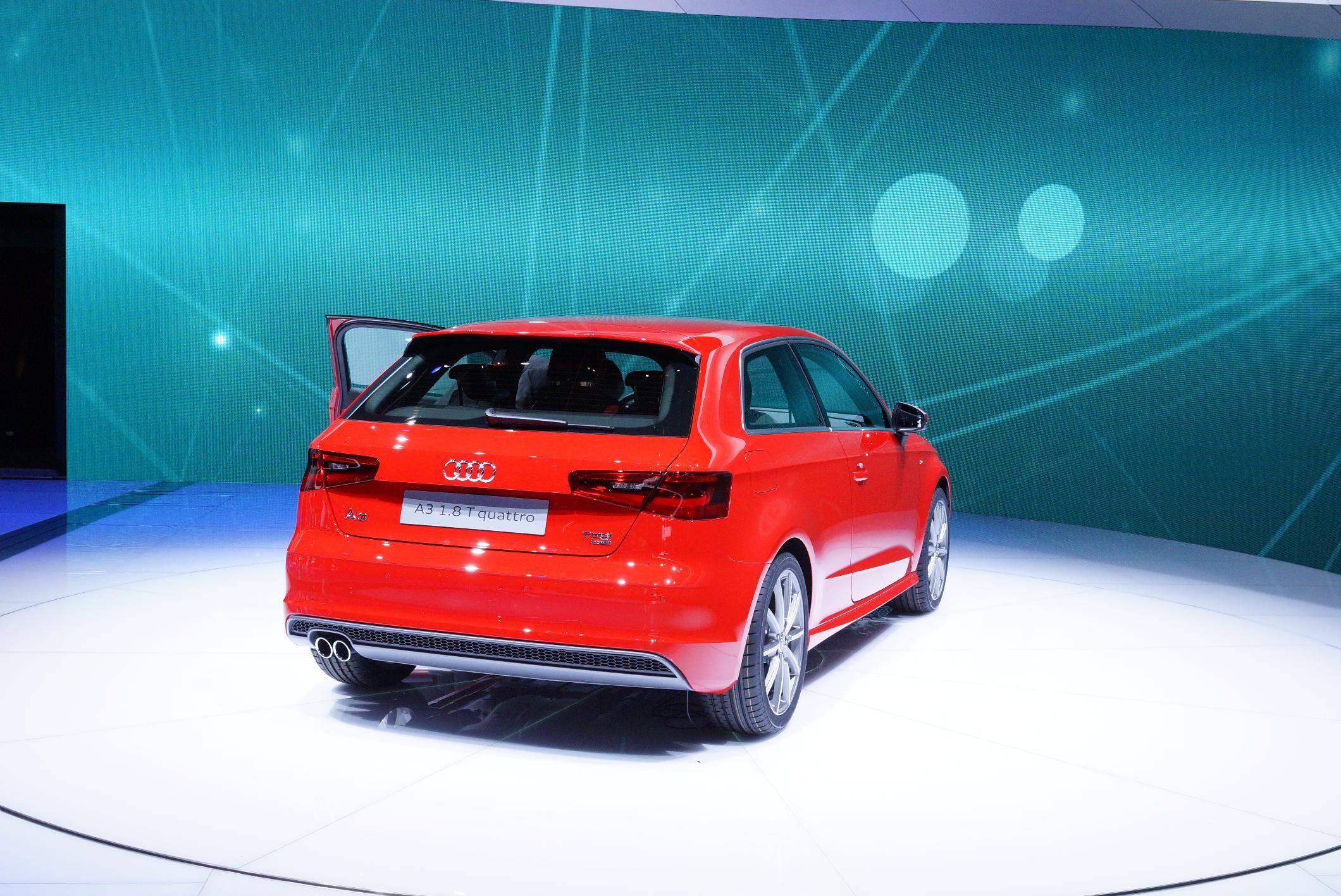 Audi A3 Geneva 2012 Rear