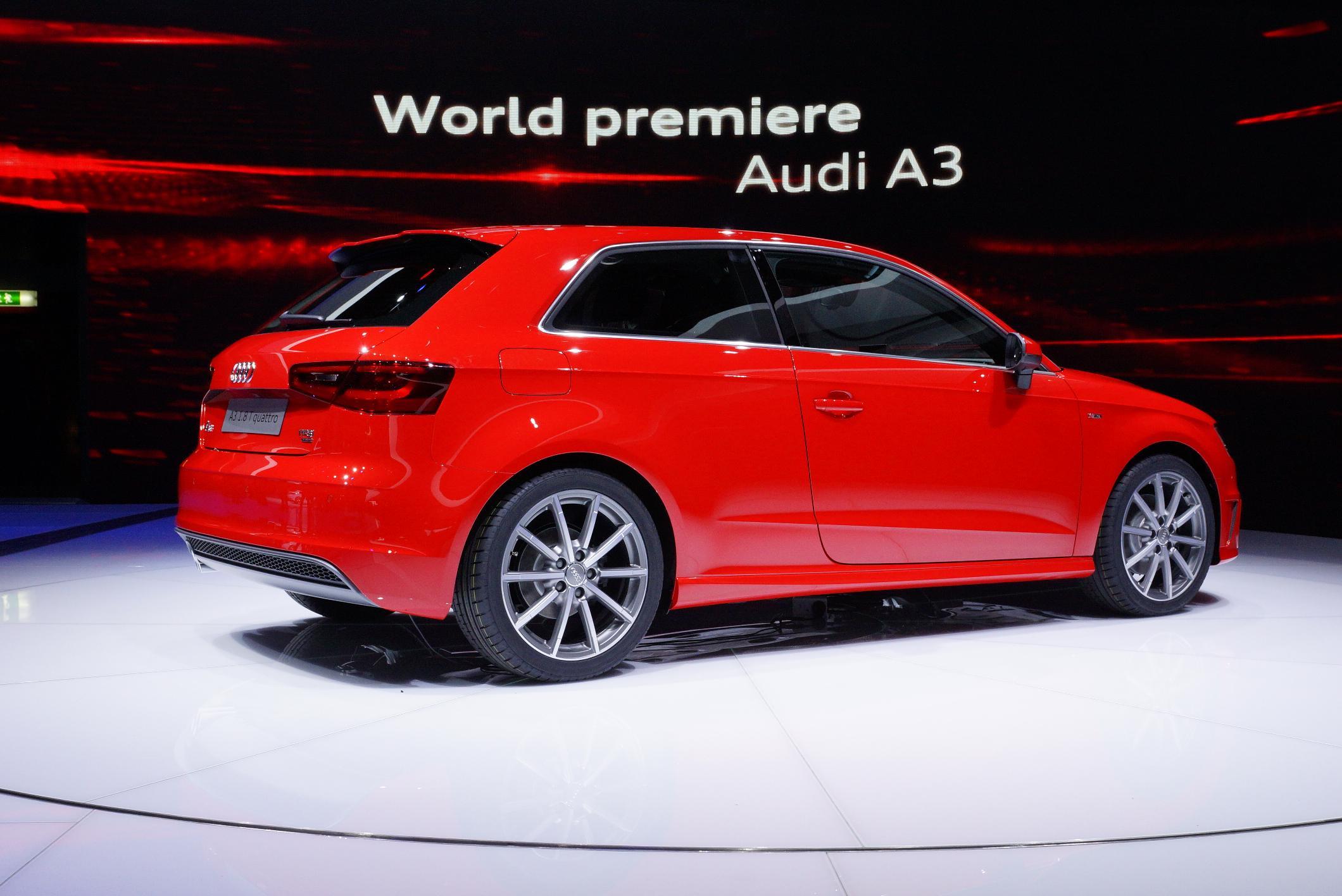 Audi A3 Geneva 2012 Side