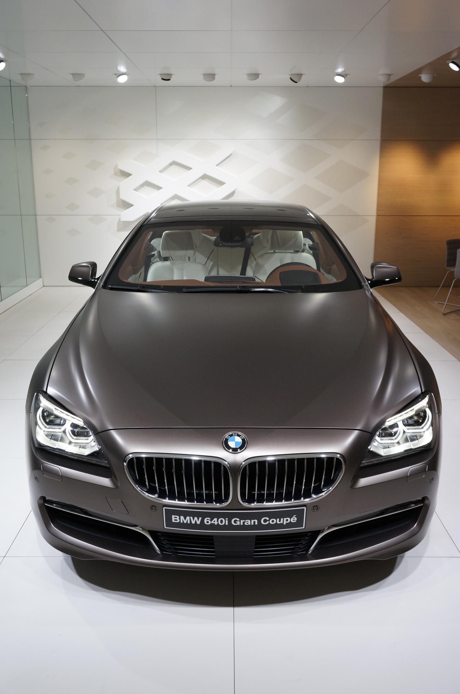 BMW 640i Gran Coupe Geneva 2012 Front 2