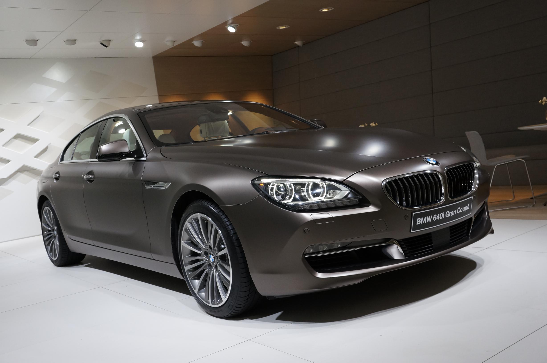 BMW 640i Gran Coupe Geneva 2012 Front