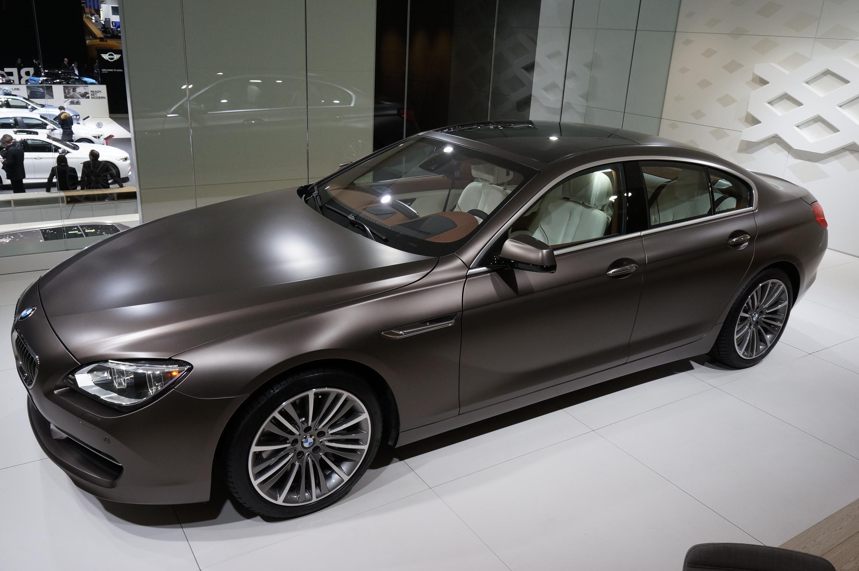 BMW 640i Gran Coupe Geneva 2012 Side