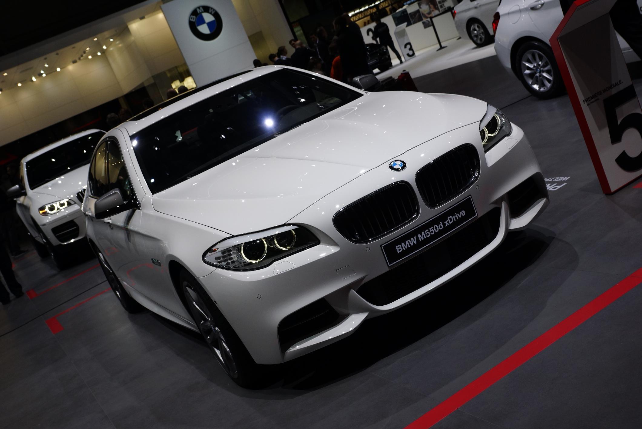 BMW M550d xDrive Geneva 2012