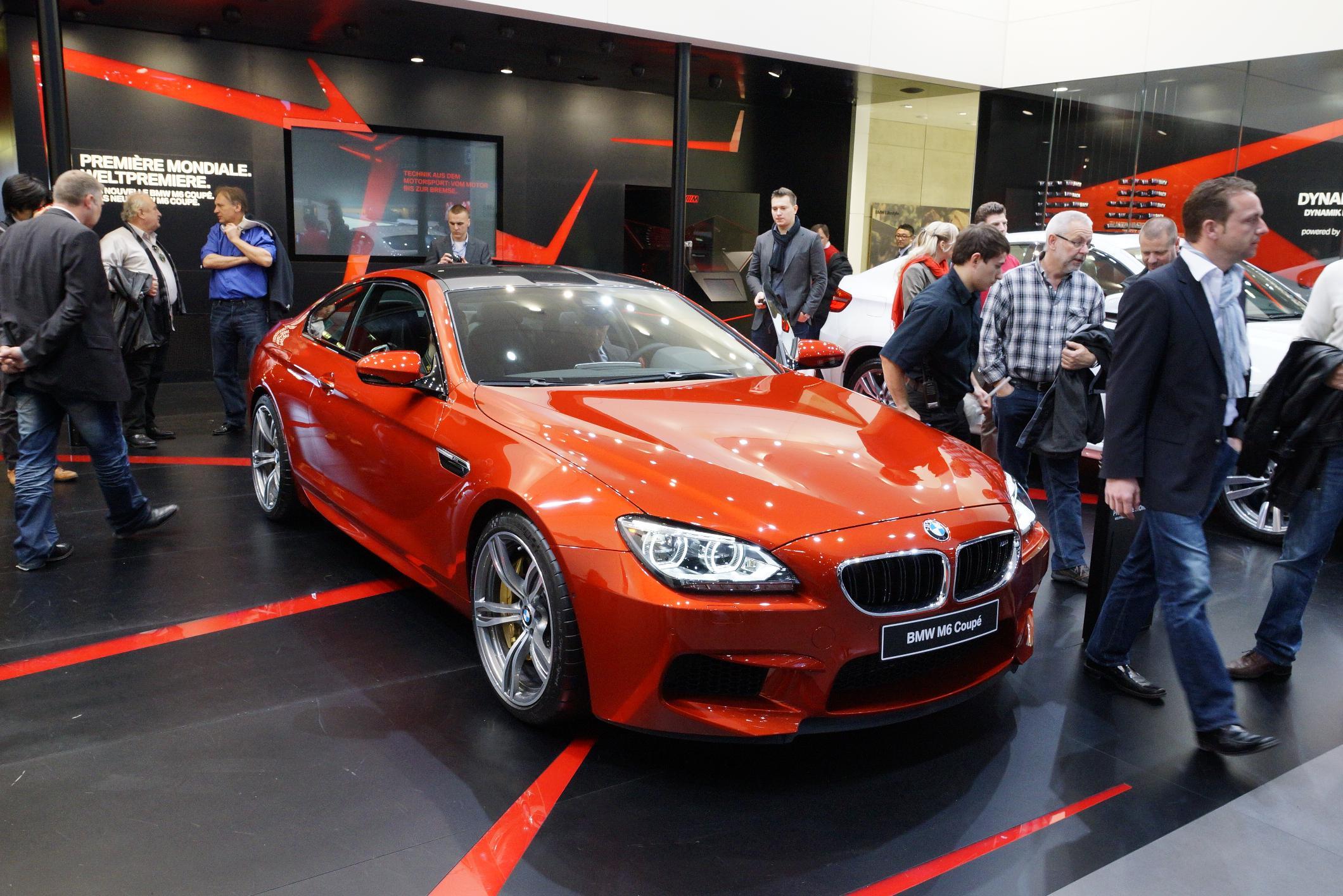 BMW M6 Geneva 2012 2