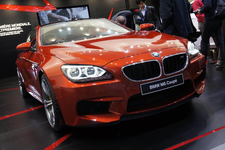 BMW M6 Geneva 2012 Front 2