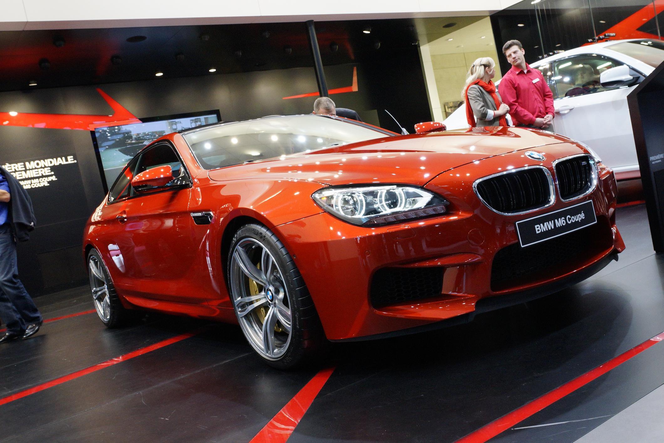 BMW M6 Geneva 2012
