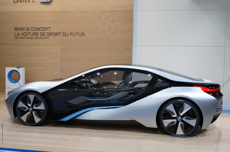 BMW i8 Concept Geneva 2012