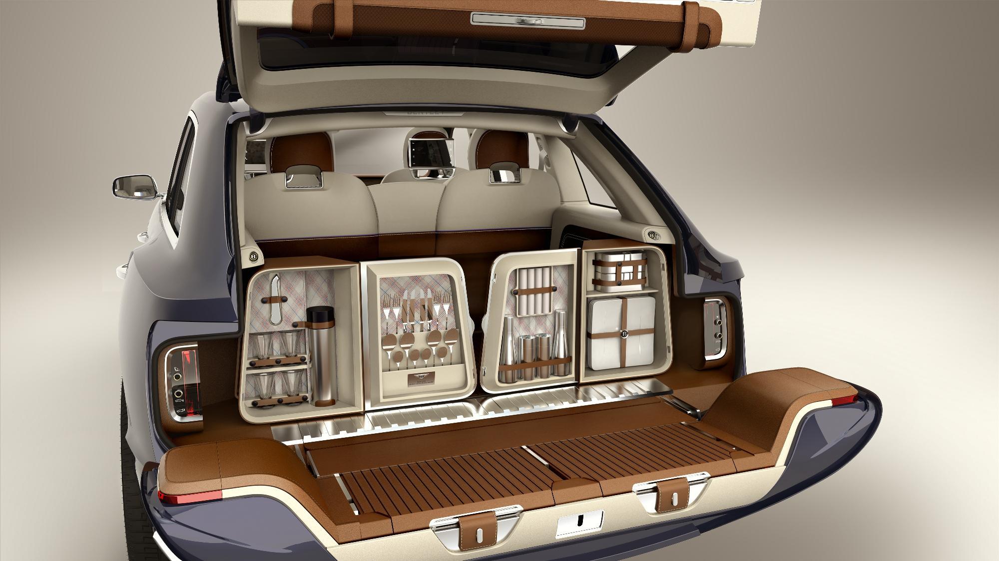 Bentley EXP 9 F Boot
