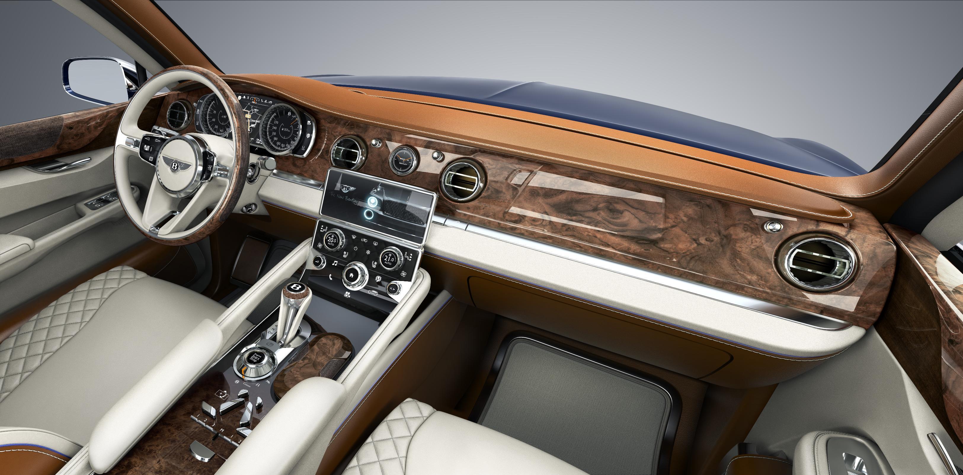 Bentley EXP 9 F Interior