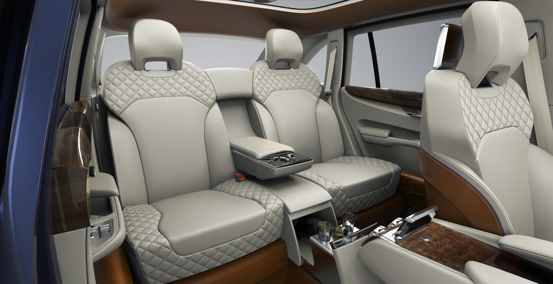 Bentley EXP 9 F Rear Seats