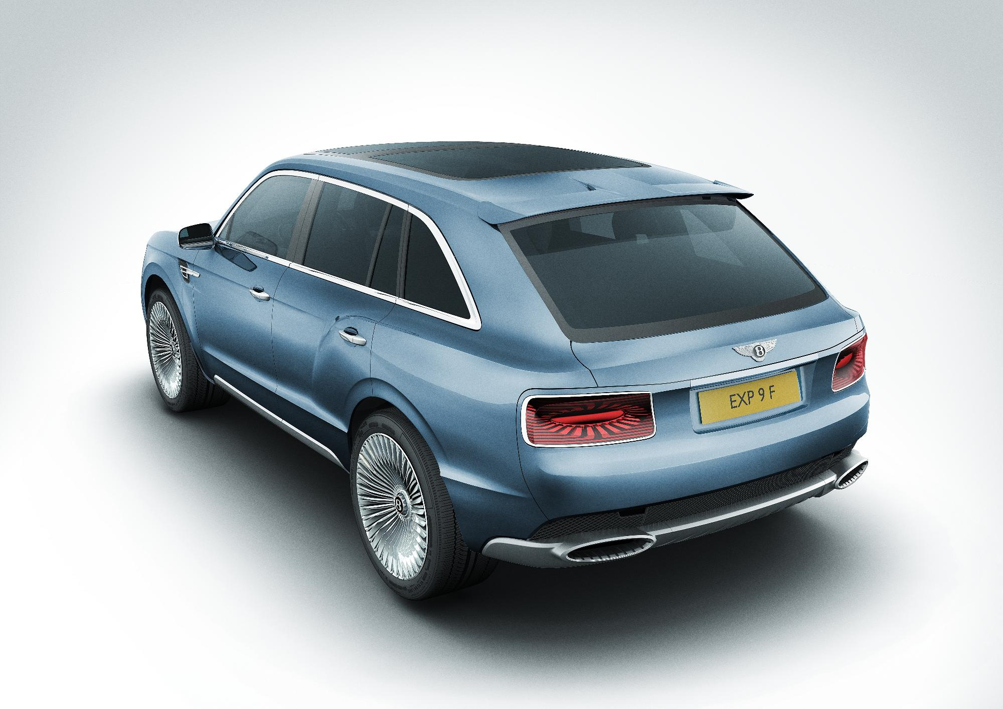 Bentley EXP 9 F Rear