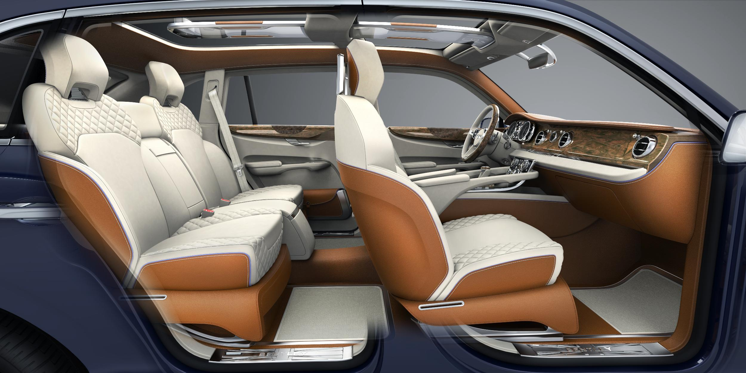 Bentley EXP 9 F Seats