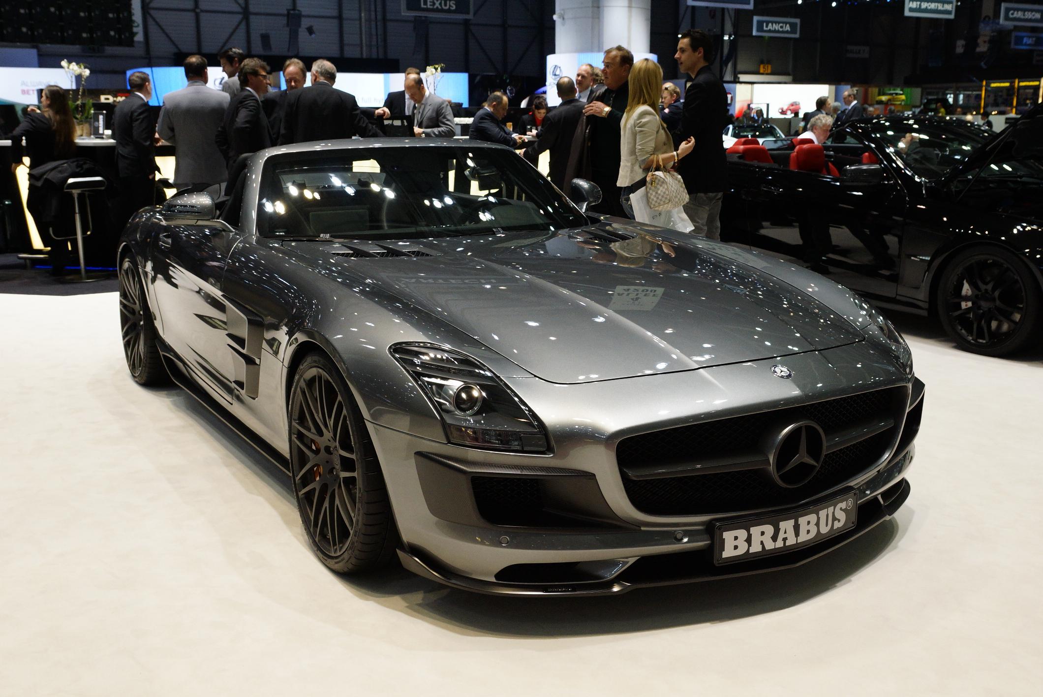 Brabus Mercedes AMG SLS Roadster
