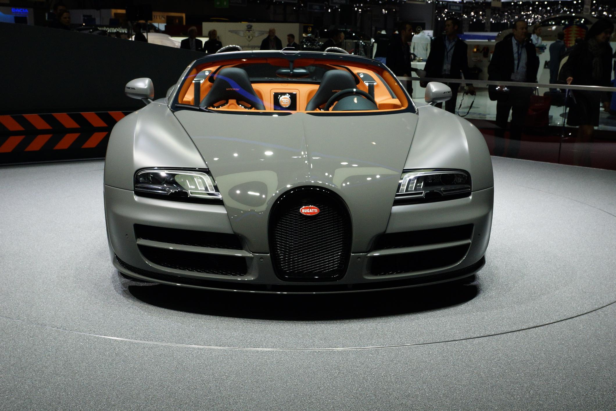 Bugatti Veyron Grand Sport Vitesse Geneva 2012 Front