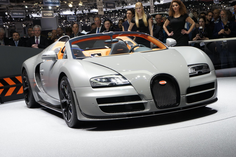 Bugatti Veyron Grand Sport Vitesse Geneva 2012