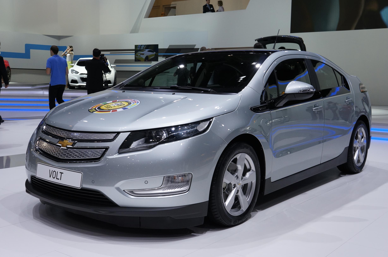 Chevrolet Volt Geneva 2012