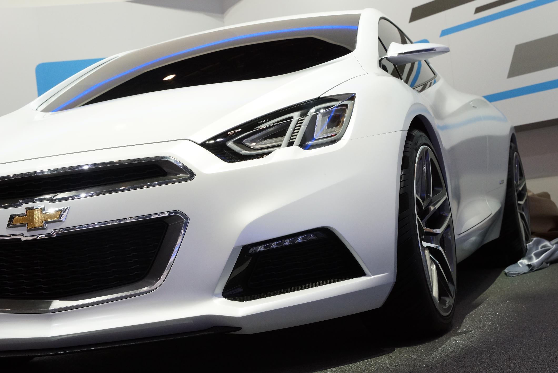 Chevrolet concept Tru 140S Geneva 2012 Grille