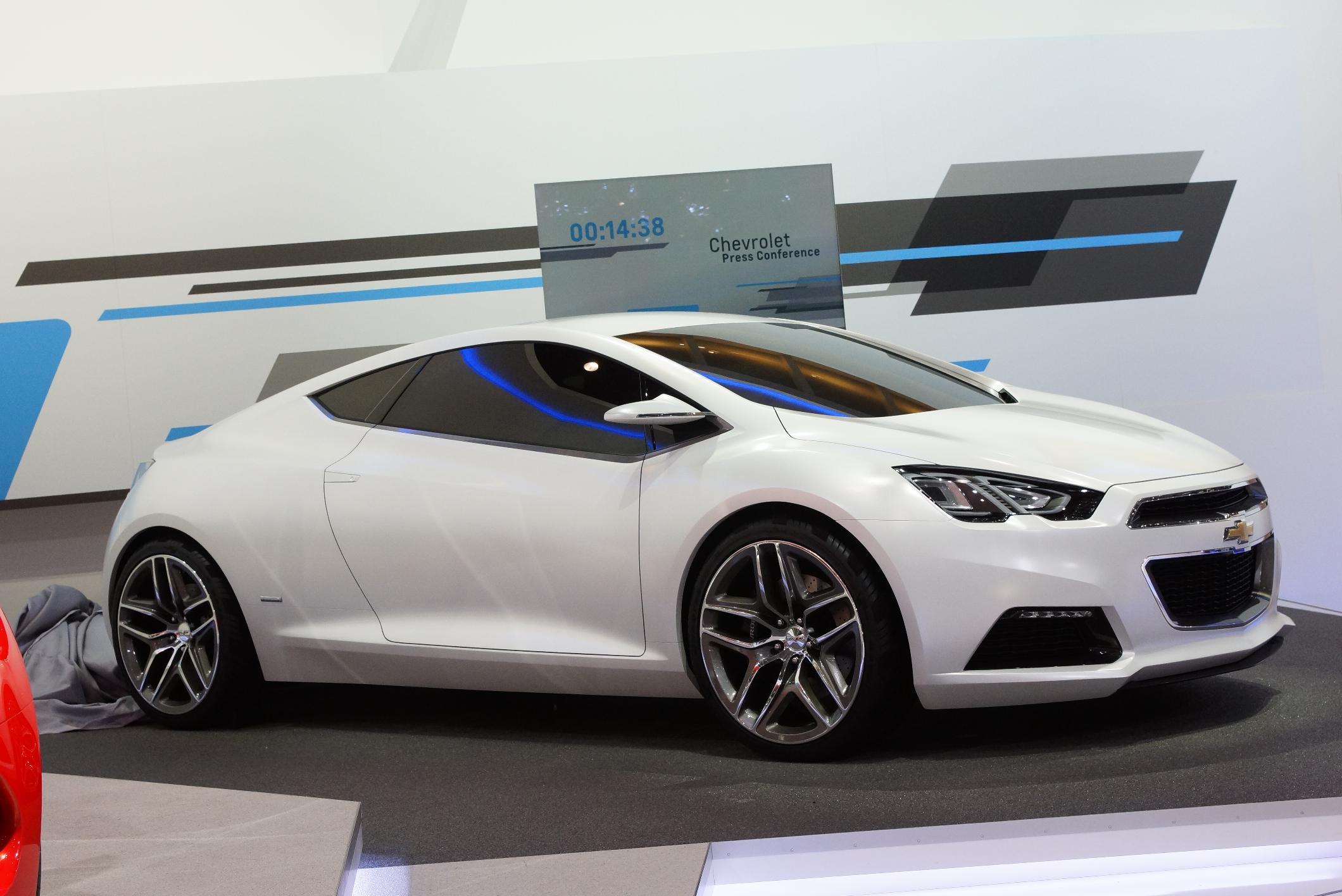 Chevrolet concept Tru 140S Geneva 2012 Side