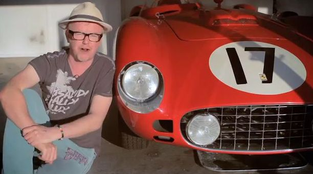 Chris Evans Carfest Ferrari 1956 860 Monza