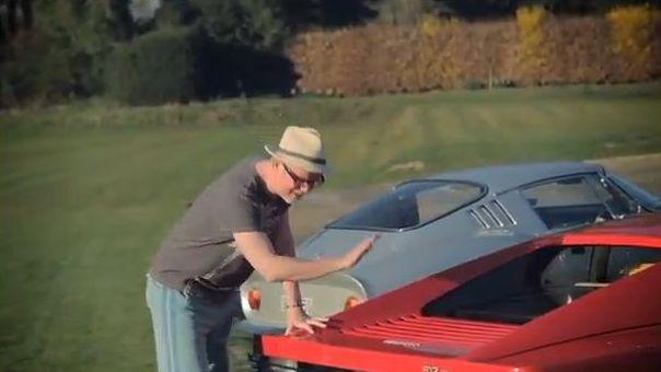 Chris Evans Carfest Ferrari 512 Testarossa