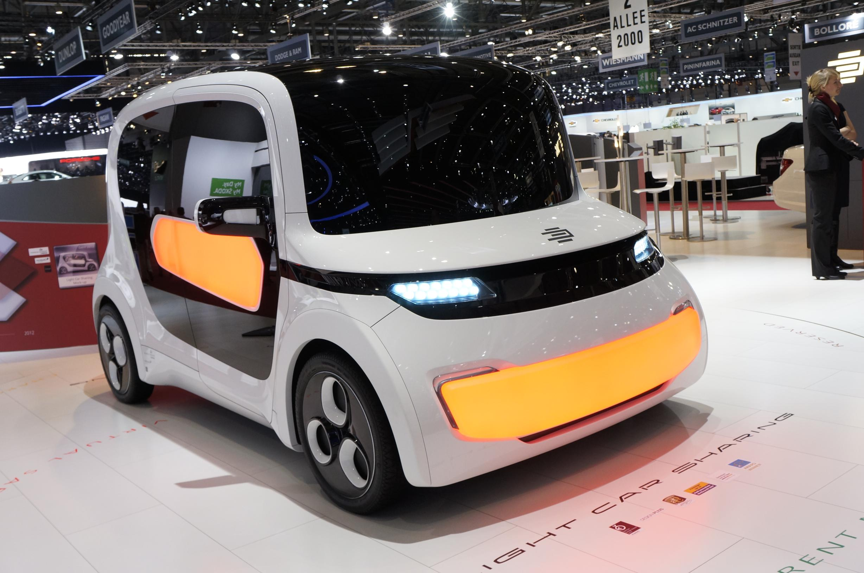 EDAG Light Car Sharing Geneva 2012 Front