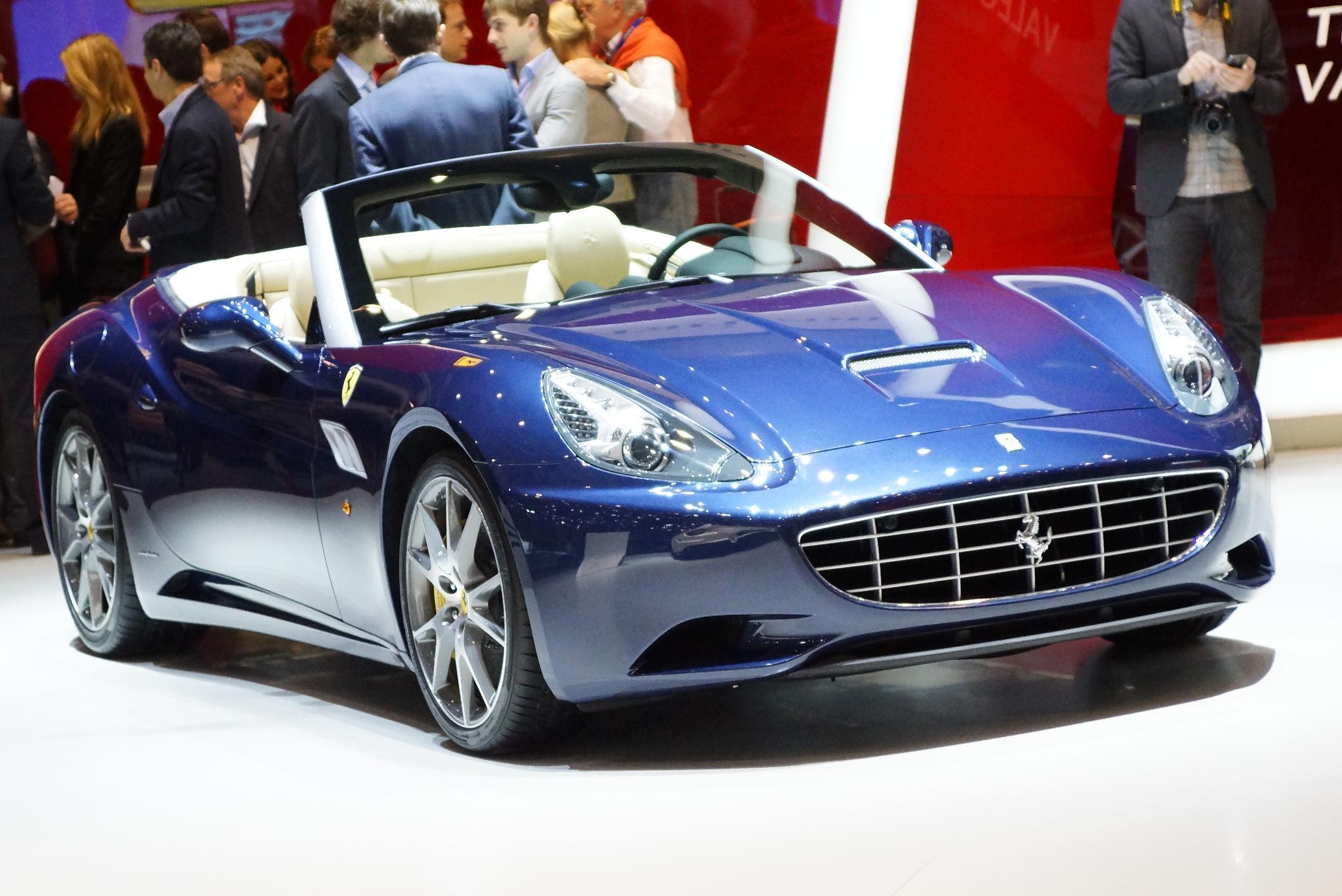 Ferrari California Geneva 2012
