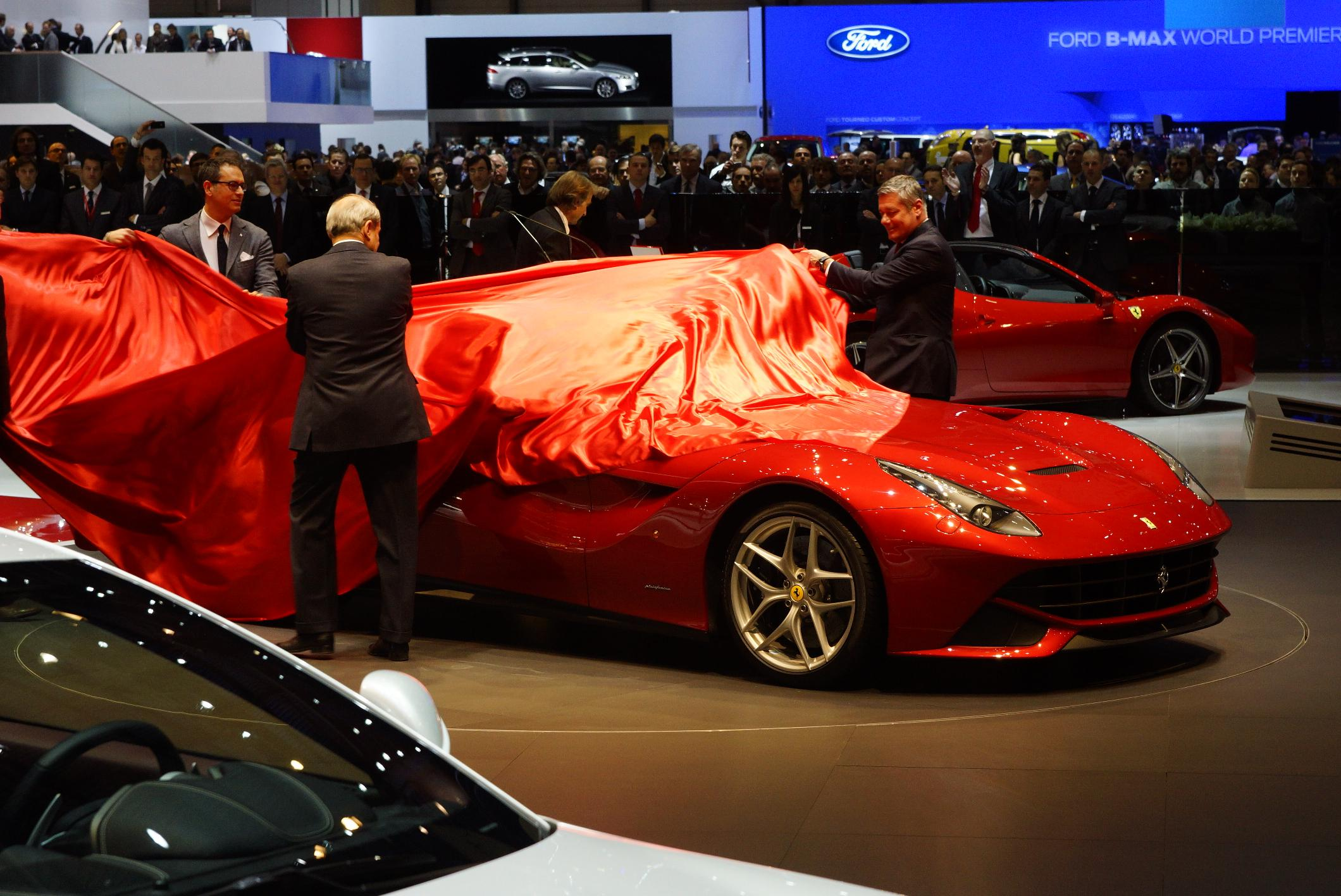 Ferrari F12 Berlinetta Geneva 2012 Unveiling